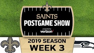Saints Postgame Show SaintsSeahawks 2019 Week 3 New Orleans Saints