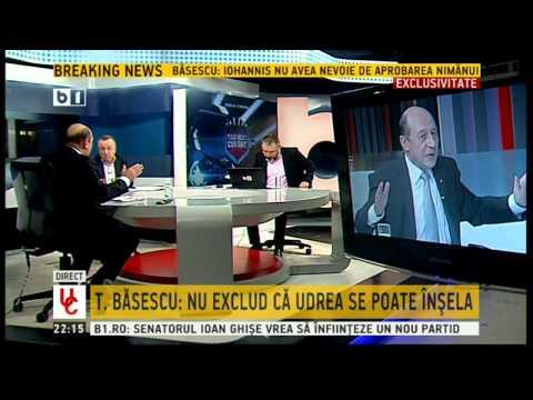 Traian Basescu: E ridicol sa spui ca Elena Udrea a luat bani de la Gala Bute
