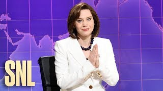 Weekend Update: Nancy Pelosi Prays for Donald Trump - SNL