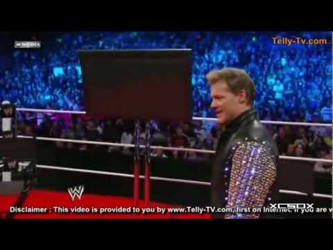 WWE RAW 1/23/12 (The Highlight Reel) Chris Jericho Breaks his Silence HQ