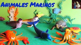Animales de juguete - MARINOS - Animals toys