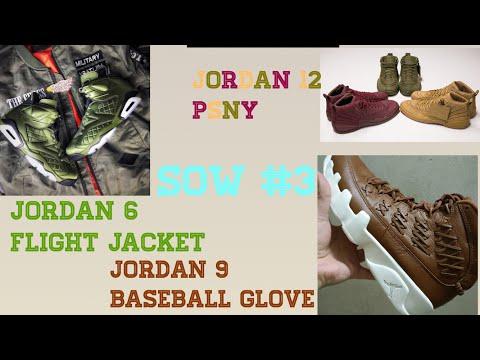 Jordan 9 Baseball Glove?!? SOW#3