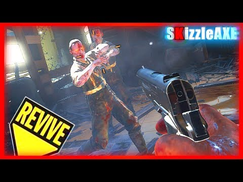 KINO DER TOTEN REMASTERED M1911, BO1 GUNS MOD - DLC 5 Gameplay (Black Ops 3 Zombies Chronicles)