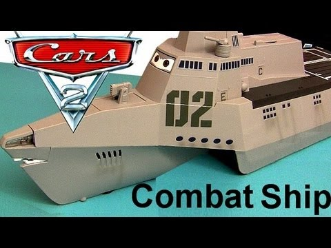 Cars 2 Combat Ship Playset