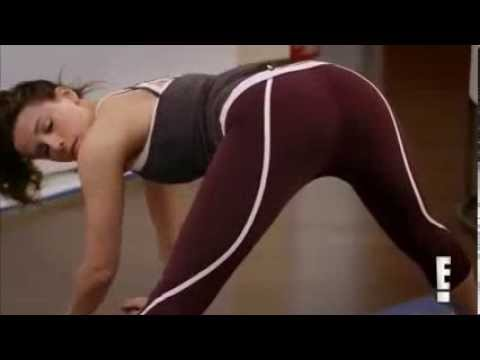 Kate Beckinsale fait de la gym , ho la la la la