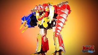 Clean Your Power Rangers Megazord Toys! (Dino Thunder Megazord)