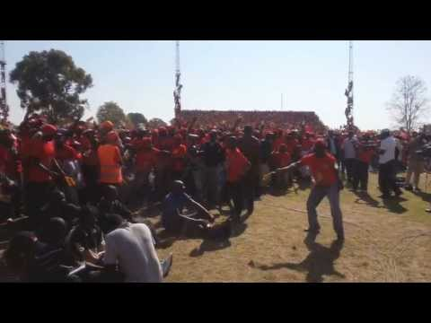 MDC RALLY IN MARONDERA - MANIFESTO LAUNCH
