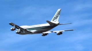 Evergreen International Airlines Boeing 747-200 Performs A Low Approach At KMMV