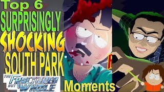 Top 6 Surprisingly Shocking South Park Fractured but Whole Moments