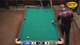 Joss Northeast 9-Ball Tour Jayson Shaw vs Eklent Kaci Finals set 1