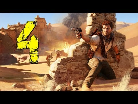 Uncharted 3: Drake's Deception: Walkthrough Part 4