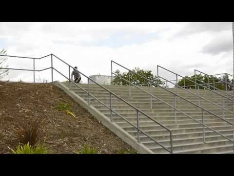 GNARLY! Lipslide 21 Stairs (Ryan Townley)