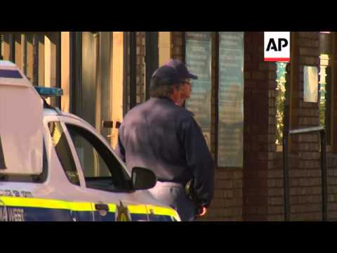 Oscar Pistorius arrived on Wednesday at Weskoppies Psychiatric Hospital in Pretoria to attend his th