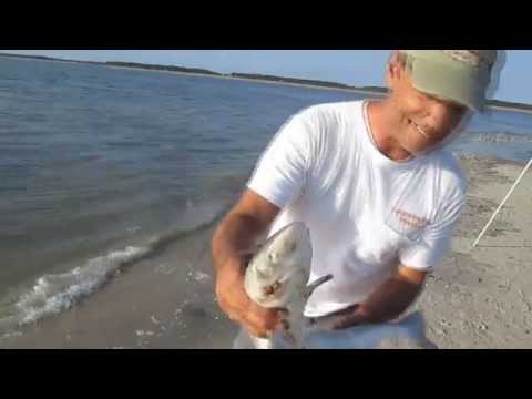 Jiggin Jerry Surf Fishing off of Edisto Beach, SC
