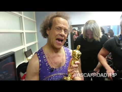 Richard Simmons Meets Oscar