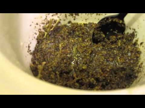 Make Butter with your Marijuana Remnants from Vaping!