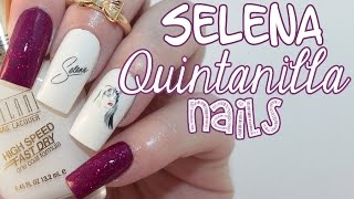 Selena Quintanilla Nails | Tribute Nail Design