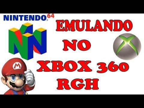Como instalar um emulador de nintendo64 N64) no xbox360 rgh RGH/JTAG