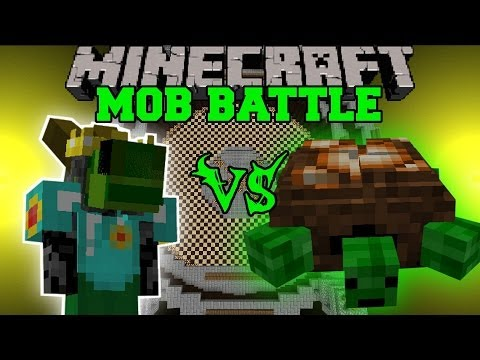 DUNGEONEER VS TURTLE BOSS, NECROMANCER, & WALKER KING - Minecraft Mod Battle - Mob Battles - Mods