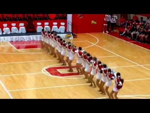 "Ottawa Township High School Poms - ""Happy"" - Performed at the Homecoming Assembly - 9/26/14"
