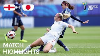 England v Japan - FIFA U-20 Women's World Cup France 2018 - Match 30