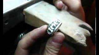 como hacer un anillo how to make a ring