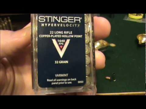 CCI Stinger .22 LR Review Part 1