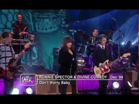 Ronnie Spector & Divine Comedy - Don't Worry Baby (Later with Jools Holland Dec '98)