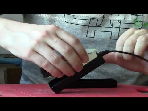 Как разобрать клееный блок питания ноутбука