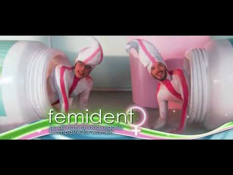 Flight Of The Conchords - Femident Toothpaste