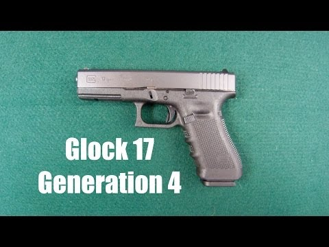 Gun Porn ---- Glock 17 Gen 4 (generation 4 9mm Semi-automatic Pistol) Awesome! video