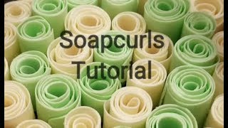 Soapcurls Tutorial: how to make crunchy soap curls