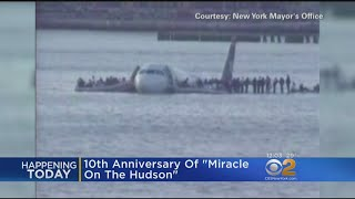 City Marks 10th Anniversary Of 'Miracle On The Hudson' US Airways Flight 1549