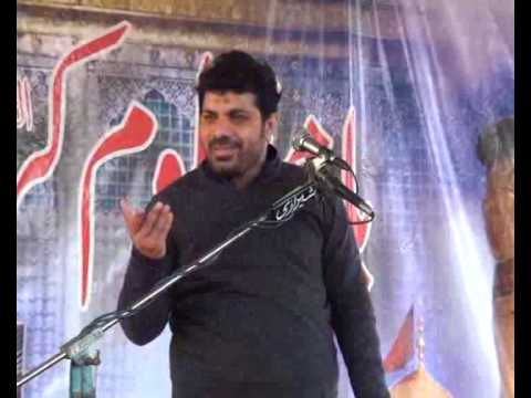 Allama Aasif Raza Alvi Biyan Vilayat e Ali ,as Best majlis 2015 at Luk Moor Sargodha