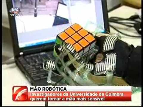 news (SIC Noticias - Portugal) - European Project (robotic hand) at ISR-UC