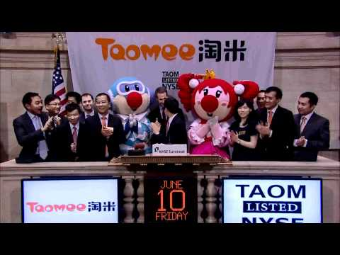 10 June 2011 Taomee rings the NYSE Opening Bell