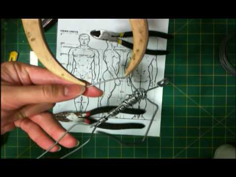 Super Sculpey Ecorche Figurine Sculpting-Part 02/34