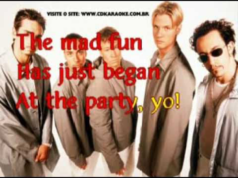 Backstreet Boys, The   Let's Have A Party