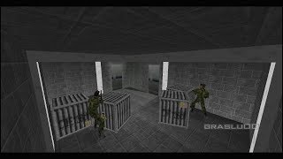 GoldenEye 007 N64 - Hidden Base - 00 Agent (Custom level)