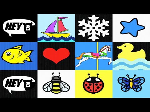 Baby View - High Contrast Patterns, Shapes And Animations For Infant Visual Stimulation video