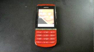 Nokia Asha 300 (Red) - Full Review