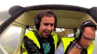 උඩුගුවනේදී ප්ලේන් එකේ පයිලට්ට සිහිය නැති වුනොත් මොනවගේ වෙයිද? බලන්න !! AIRPLANE CRASH PRANK