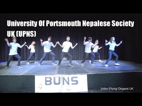 Inter-Uni Nepalese Dance Competition 2014 (University Of Portsmouth Nepalese Society, UK) UPNS