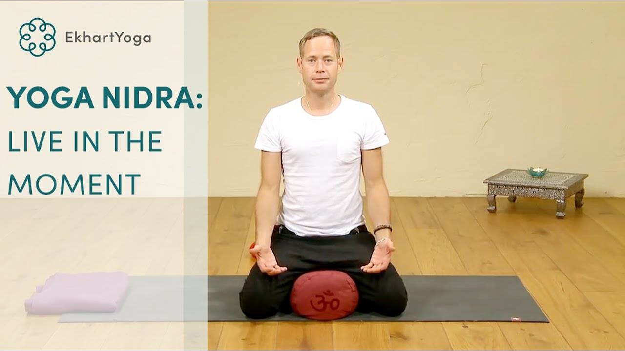 How to live in the moment: A short Yoga Nidra practice, with James Reeves