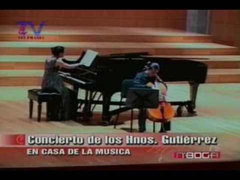Concierto Hnos. Gutiérrez en Casa de la Música