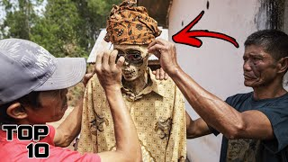 Top 10 Unusual Rituals From Around The World