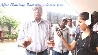 Old man reaction to Baahubali film in New Delhi -Must watch