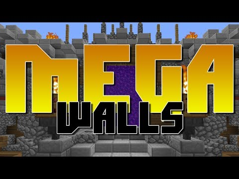 Minecraft: Mega Walls - Hypixel Server - Feat. Poetendo, Jarren, Icecube3343, and Jake