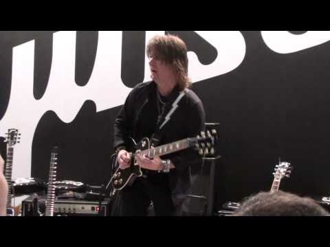 Kee Marcello: Musikmesse 2010 Gibson stand