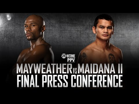 Press Conference Live - Mayweather vs. Maidana 2 - SHOWTIME Boxing